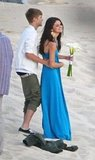 Selena Gomez and Justin Bieber went to a wedding together.