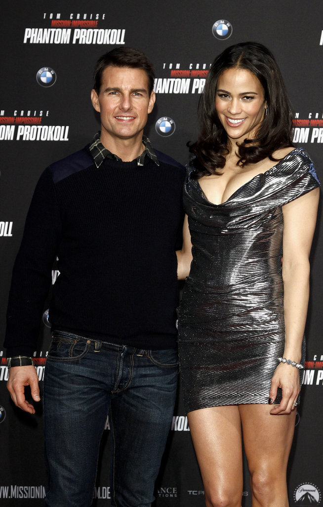 Tom Cruise and Paula Patton were in Munich for Mission: Impossible — Ghost Protocol.