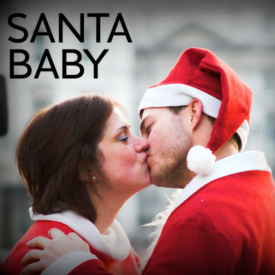 Smooches at SantaCon