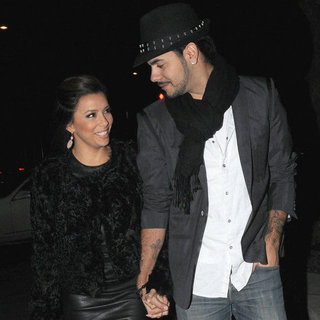 Eva Longoria and Eduardo Cruz Pictures in London