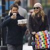 Kate Hudson &amp; Matthew Bellamy Strolling in London With Bing