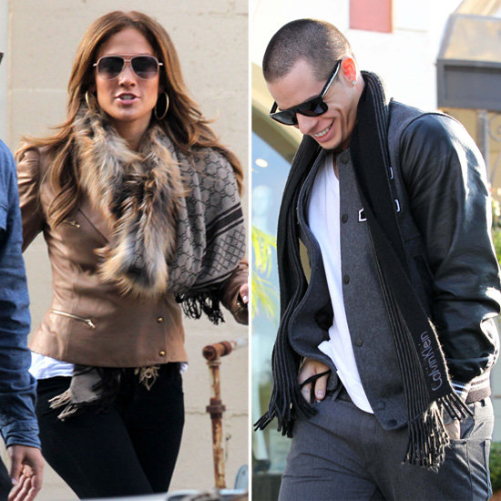 J Lo Is All Smiles in the Company of Her New Man, Casper