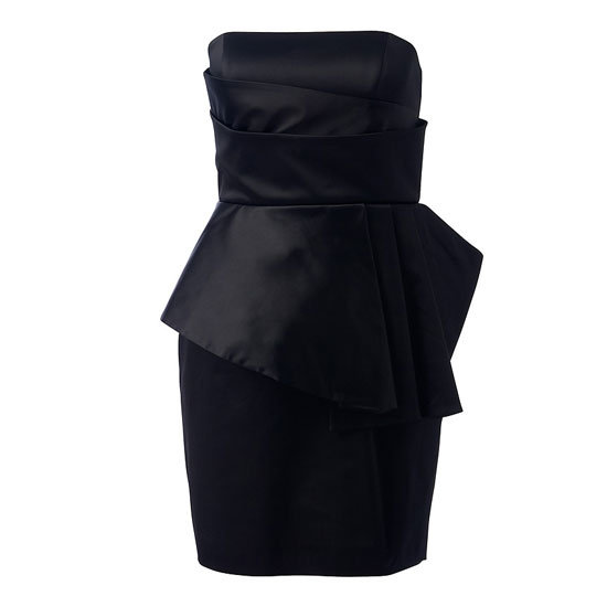 This structured, strapless LBD look far more expensive than it's under $100 rpp. Jewel Sculpted Strapless Dress, $99.99, Forever New