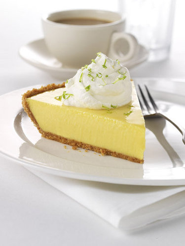 """Greek"" Key Lime Pie"