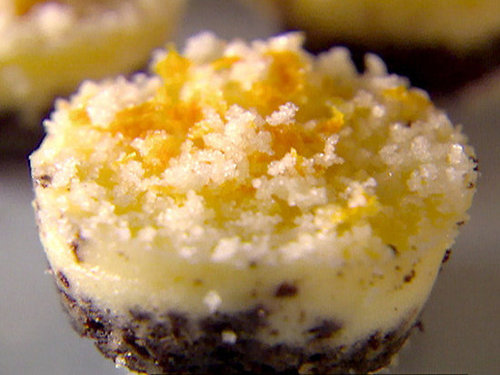 Individual Orange and Chocolate Cheesecakes