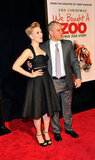 Matt Damon and Scarlett Johansson took a turn on the red carpet.
