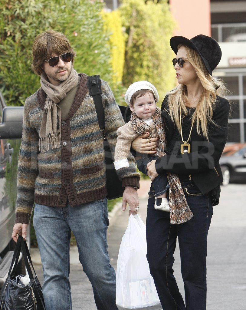 Skyler Berman was all smiles on a day out with Rachel Zoe and Rodger Berman.