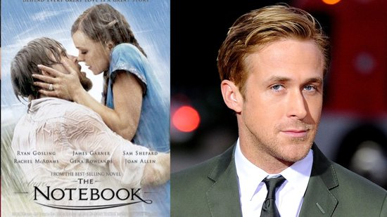 "Video: Ryan Gosling Cast in The Notebook For Being ""Not Handsome"" and ""Not Cool"""