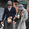 Blake Lively and Ryan Reynolds at Coffee in NYC Pictures