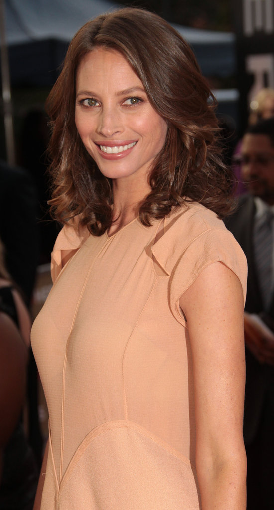 Christy Turlington at an event in LA.