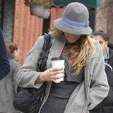 Blake Lively took her coffee to go in NYC.
