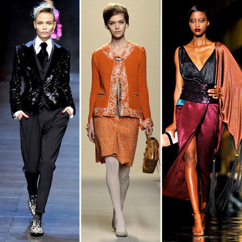 The Best and Biggest Fashion Trends of 2011: Colour Blocking, Ladylike, 70s, Boudoir, Colour Blocking and Manstyle Tailoring