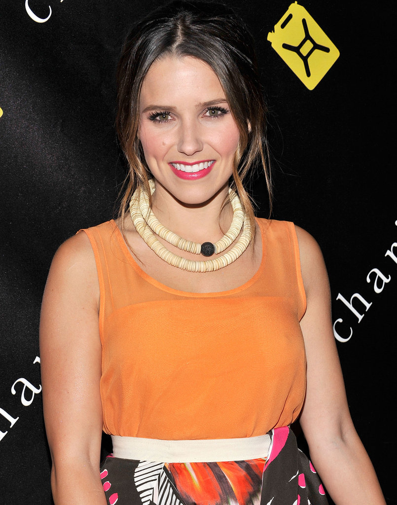 Sophia Bush came out to support a clean water initiative in NYC.