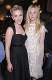 "Scarlett Johansson has nicknamed Elle Fanning ""Elbow."""