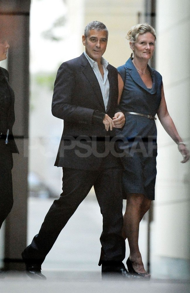 George Clooney went to Star City Casino in Sydney.