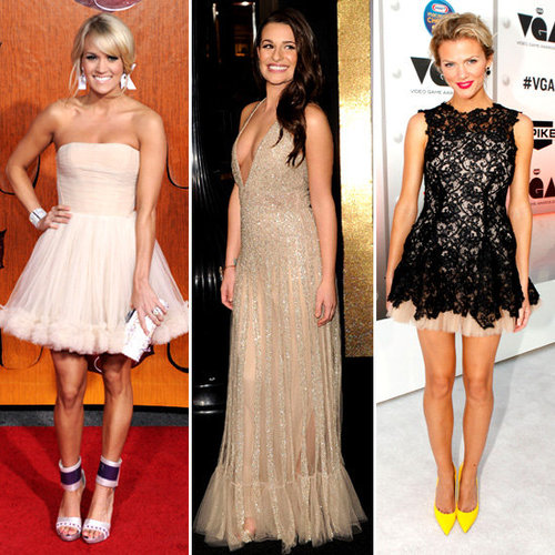 Celebrities Wearing Tulle Dresses 2011