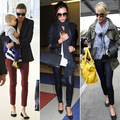 Best Celebrity Airport Style 2011