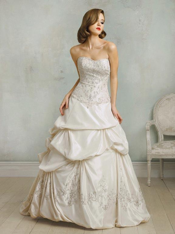 strapless vintage wedding dressesStrapless Vintage Wedding Dresses