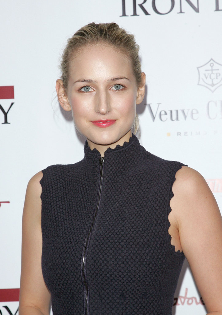 Leelee Sobieski got glam for The Iron Lady premiere.