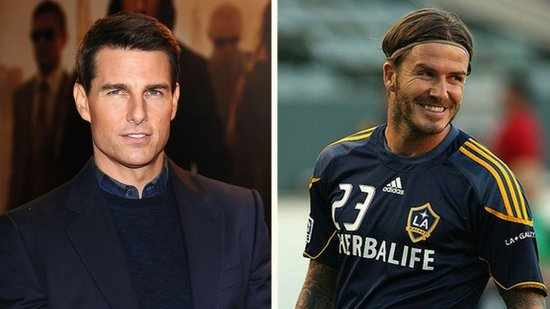 Video: Tom Cruise Wants David Beckham as His Next Action Film Costar