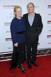 Meryl Streep rocked a Fall/Winter 2011 Stella McCartney look on the red carpet with her husband, Don Gummer.