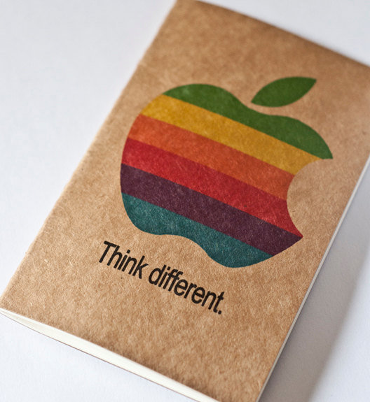 Think Different Moleskine Cahier ($10)