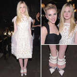 Pictures of Elle Fanning and Scarlet Johansson at the We Bought a Zoo Premiere: Scope Her Louis Vuitton Look from All Angles!