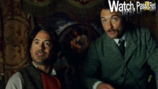 Watch, Pass, or Rent Video Review — Sherlock Holmes: A Game of Shadows