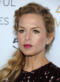 Rachel Zoe showed off her pretty berry lips at the Zoe Media Group launch party.