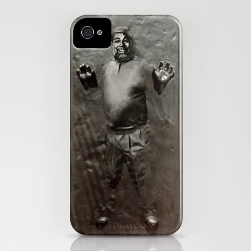 Steve Wozniak in Carbonite iPhone Case