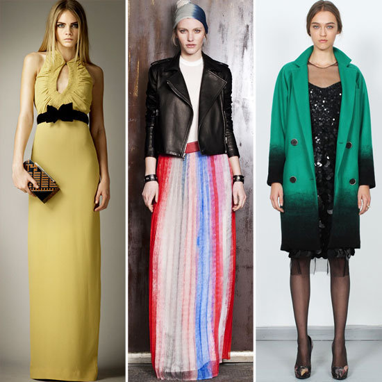 The pre-Fall 2012 collections are rolling out steadily. Catch up on Donna Karan, Burberry, Monique Lhuillier, and more!