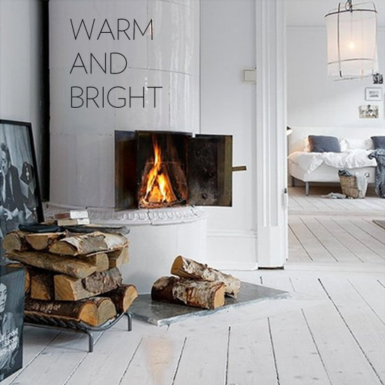 Holiday Fireplaces and Decor Photos