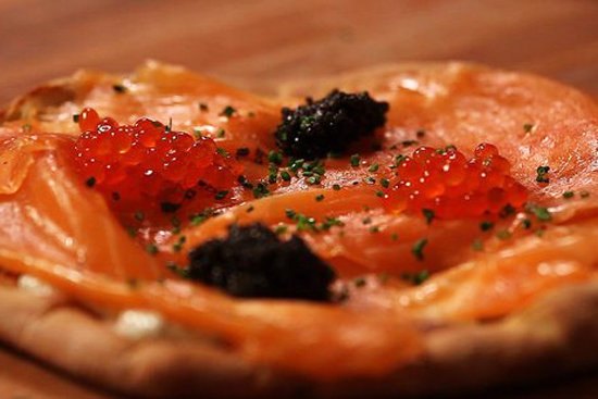 Silky-Smooth Smoked Salmon Pizza