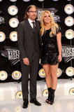 Britney and Jason stepped out for the MTV Video Music Awards in August 2011.