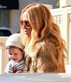 Rachel Zoe got a big smile out of baby Skyler.