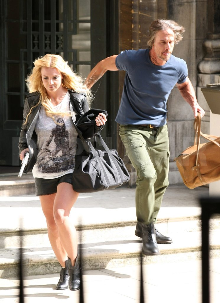 "Jason helped Britney film her ""Criminal"" video in London in September 2011."