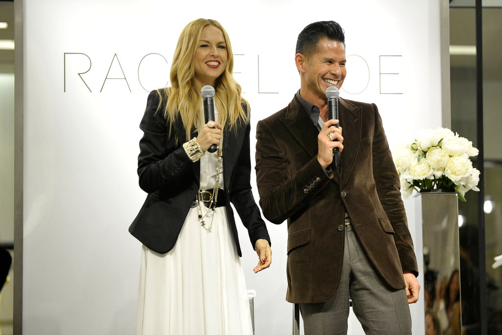 Rachel Zoe co-hosted her fashion show in San Diego.
