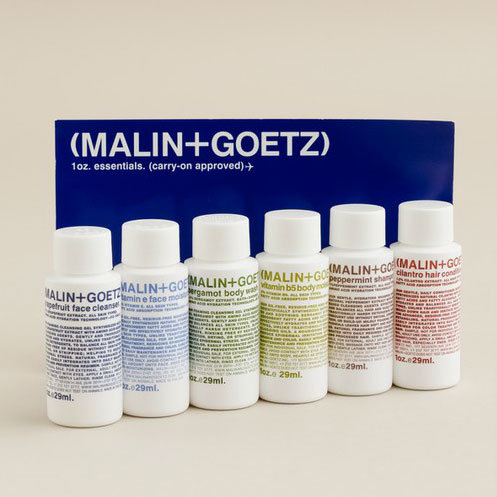 Traveling tosses extra strain into an already stressful season, but this carry-on approved Malin + Goetz travel kit ($30) includes all your toiletry necessities in simple, stylish packaging.