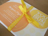 You Are My Sunshine Baby Shower Invite ($2 For 1)