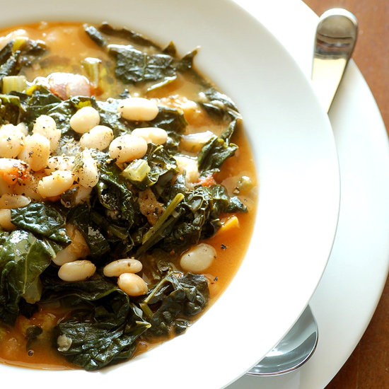 Savory Kale, Cannellini Bean, and Potato Soup