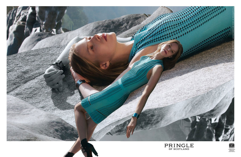 Pringle of Scotland Spring 2012 Ad Campaign