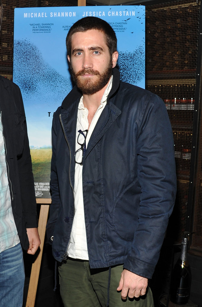 Jake got scruffy at an event in NYC in November 2011.