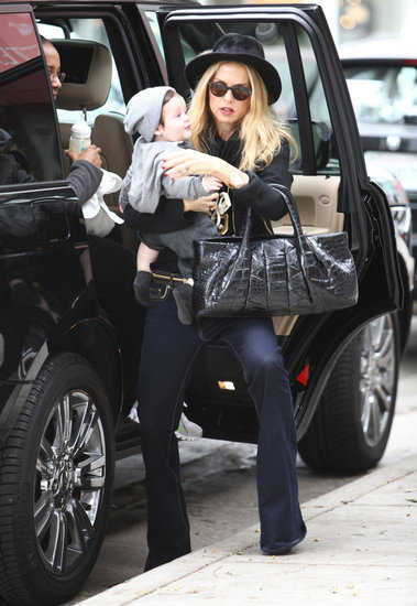 Rachel Zoe and Skyler Berman out in LA.