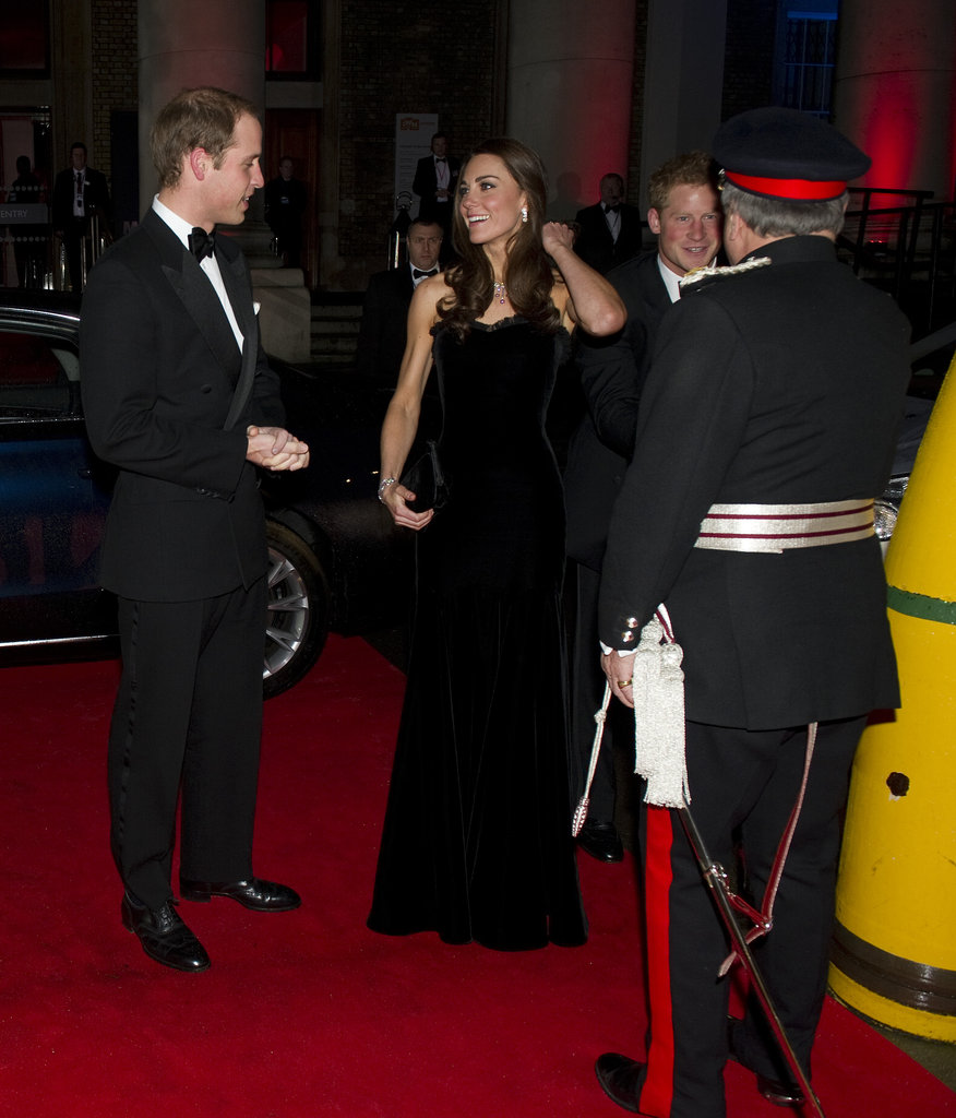 Kate Middleton chatted with Prince William on their way to an event with Prince Harry.