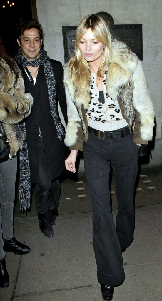 Kate Moss and Jamie Hince were together in London.