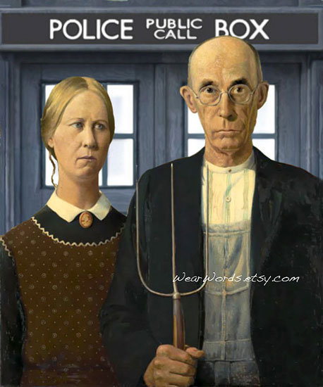 American Who Gothic Print ($16)
