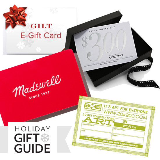 10 No-Fuss Gift Cards to Buy Now