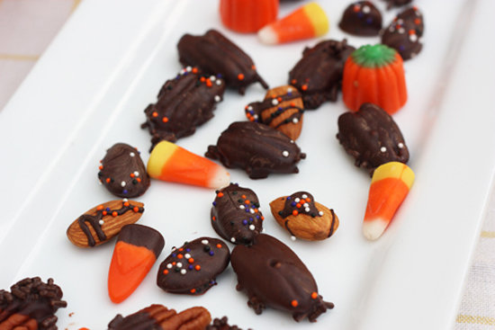Creepy Chocolate Cockroach Treats