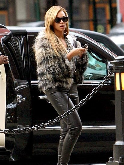 Beyonce street style