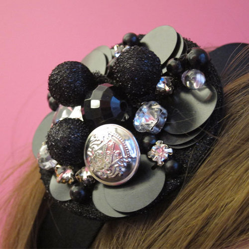 How to Make a Vintage Brooch Headband